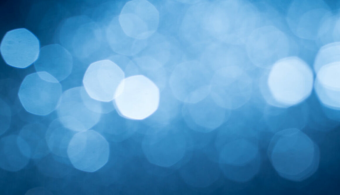 Abstract blue lights 1