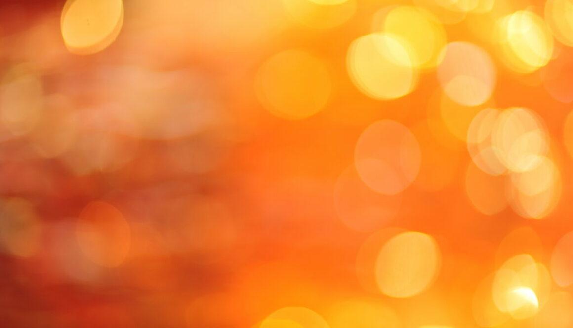 Abstract orange lights 2