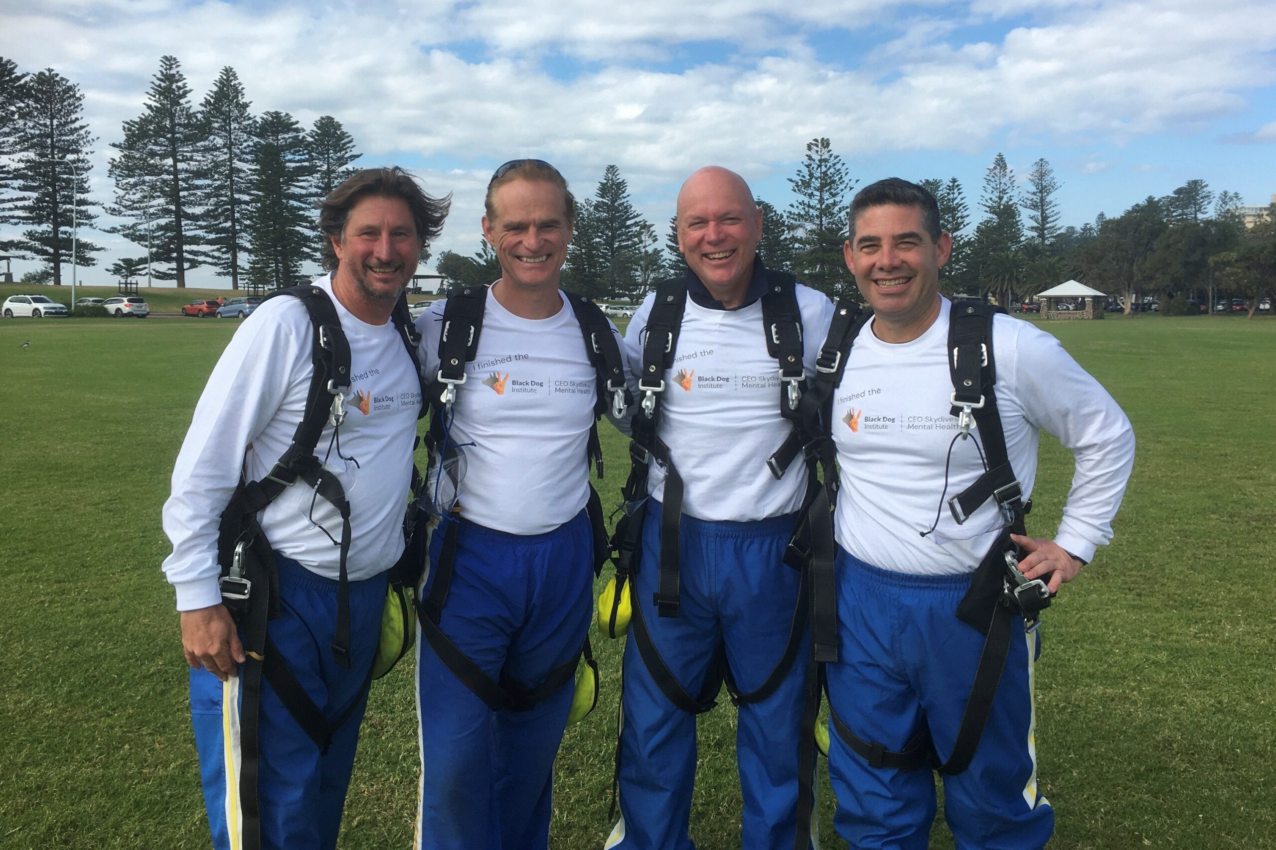 Insurance CEOs Skydive A